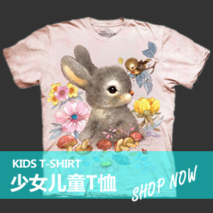 Kids 少女儿童3DT恤 | THE MOUNTAIN中国 3DT恤在线商店